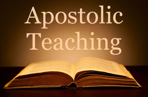 apostolic teaching